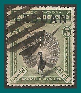 Labuan 1897 Pheasant, p15, cancelled  76,SG92a