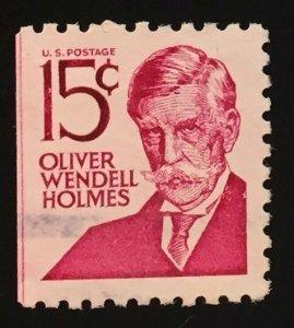 US #1288B Used VF - Oliver Wendell Holmes