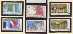 Hong Kong - Scott 578-583 - General Issue - 1990 - MNH - Set of 6 Stamps