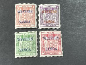 SAMOA # 216-219--MINT NEVER/HINGED----COMPLETE SET---1955
