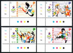 Singapore 1394-1397, MNH. 2010 Youth Olympic Games, Singapore, 2009