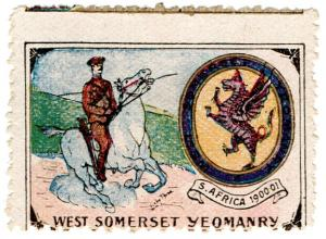 (I.B) Cinderella : Delandre Great War Regiments - West Somerset Yeomanry