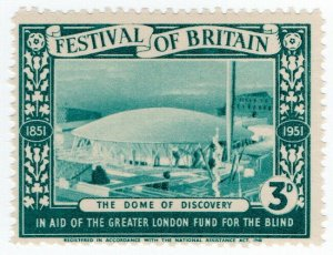 (I.B) Cinderella Collection : Festival of Britain - Dome of Discovery 3d