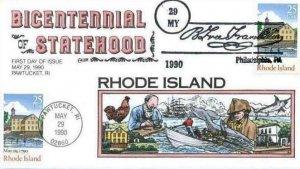 COLLINS HAND PAINTED 2348 N1701 Rhode Island