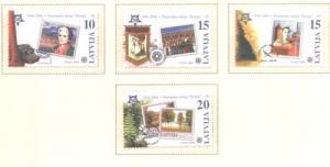 Latvia Sc 633-6 2006 Europa stamp set  mint NH