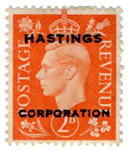 (I.B) George VI Commercial Overprint : Hastings Corporation