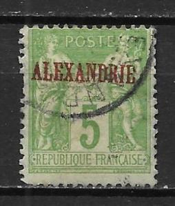 France Offices in Egypt - Alexandria 5a 5c Commerece single Used