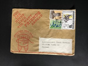 Indonesia #780//B242 Cover to Finland (1970-1999) Cover #5032