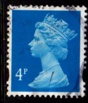 Great Britain - #MH247 Machin Queen Elizabeth II - Used
