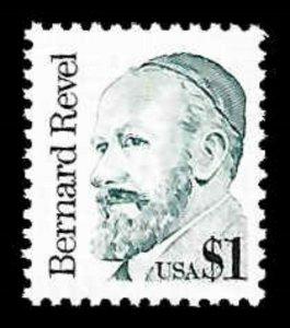 US #2193 $1.00 Bernard Revel, MNH, (PCB-2)