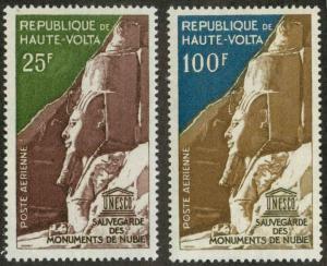 Upper Volta (Burkina Faso) C12-C13 Mint VF H & HR