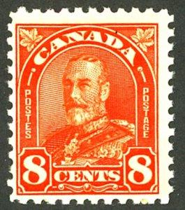CANADA #172 MINT OG NH GUM SKIPS