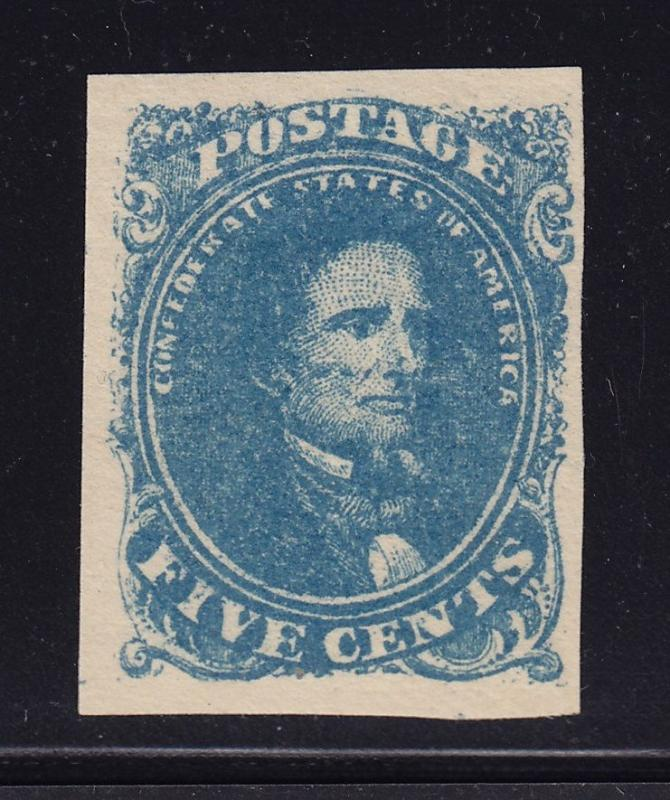 CSA 4 VF+ OG previously hinged with nice color cv $ 225 ! see pic !