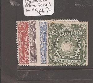 BRITISH EAST AFRICA (0707b) SG16-9, 5R has some toning  MOG