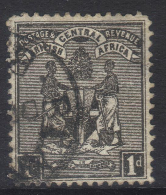 NYASALAND 1895 SG21 USED CAT £16