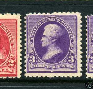 Scott #221  Jackson  Mint  Stamp   NH   (Stock #221-3)