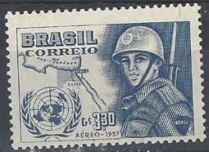 Brazil  C88  MNH UN Emergency Force 1957