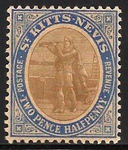 St Kitts-Nevis 1903 Scott# 4 MVLH