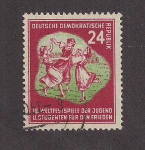 GERMANY - DDR SC# 86 F-VF U 1951