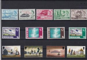 tristan da cunha mint never hinged stamps ref r12569