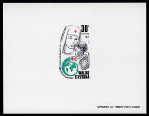 Wallis and Futuna 1988 Sc#371 RED CROSS & RED CRESCENT Deluxe Souvenir Sheet MNH