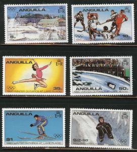 ANGUILLA Scott 375-380 MNH** set