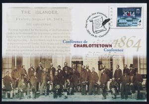 Canada S103 Pre-paid Envelope - Charlottetown Conference