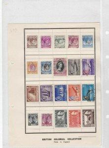 malaya singapore stamps ref 7815