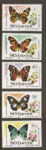 St Vincent #523-7 Mint SPECIMEN