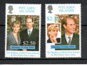 Pitcairn #505-506 MNH