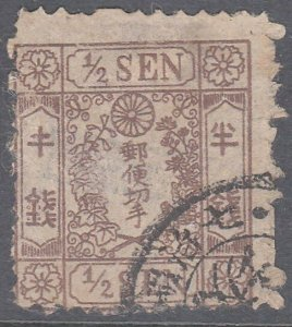 JAPAN  An old forgery of a classic stamp....................................C987