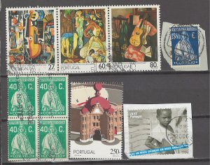 COLLECTION LOT # 4204 PORTUGAL 6 STAMPS + 1 BLOCK OF 4 1926+ CV+$11
