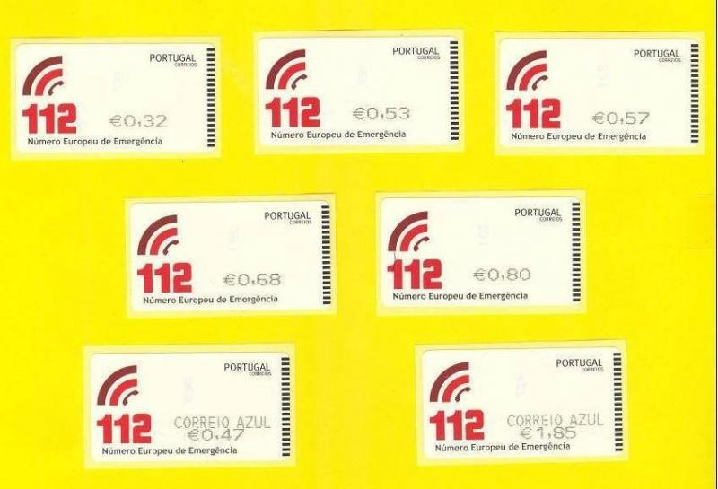 SMD STAMPS & Priority Mail PORTUGAL 2011 EUROPEAN EMERGENCY NUMBER MEDICINE
