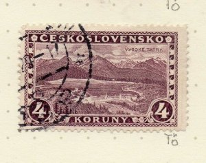 Czechoslovakia 1926-27 Issue Fine Used 4k. NW-148621