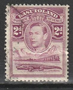 #3 Basutoland Used(creased)
