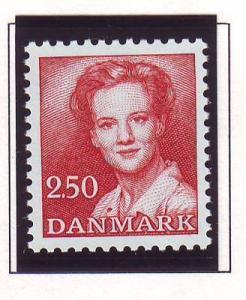 Denmark Sc 706 1983 2.5 kr Queen stamp mint NH