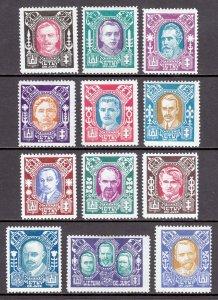 Lithuania - Scott #116-119C - MH - SCV $15.00