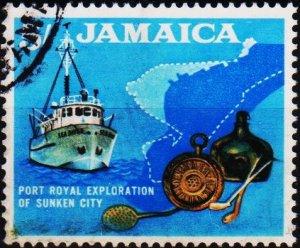 Jamaica. 1964 5s S.G.230  Fine Used