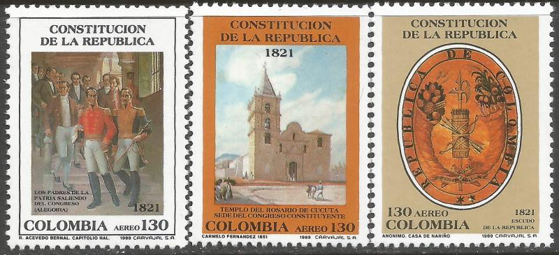 COLOMBIA C815-17 MNH T627