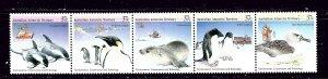 Australia Antarctic Terr L76 MNH 1988 Marine life strip been folded  #2