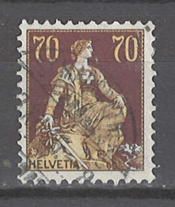 COLLECTION LOT # 4565 SWITZERLAND #141 1908 CV+$17
