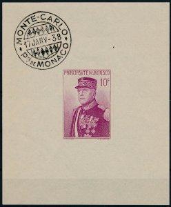 [I1604] Monaco 1938 good sheet very fine MNH $260