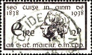 IRLANDE / IRELAND / EIRE - 1938 CÉIDEACH CO.ROS COMÁIN (Keadew, Roscommon)/SG107