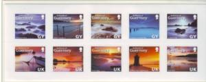 Guernsey Sc 997 2008 views stamp sheet mint NH