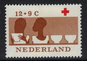Netherlands 1963  MH  Red Cross  12+9ct   #