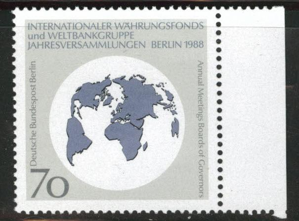 Germany Berlin Occupation Scott 9N572 MNH** Monetary fund