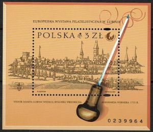 Poland Scott 3602 (SW 3918) MNH - International Philatelic Exhibition 2001