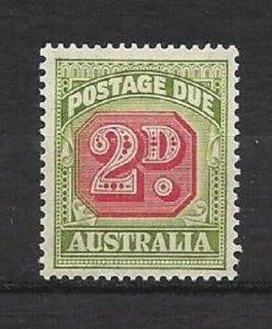 Australia - Postage Dues J73 and J91 thru J94 OG Some NH