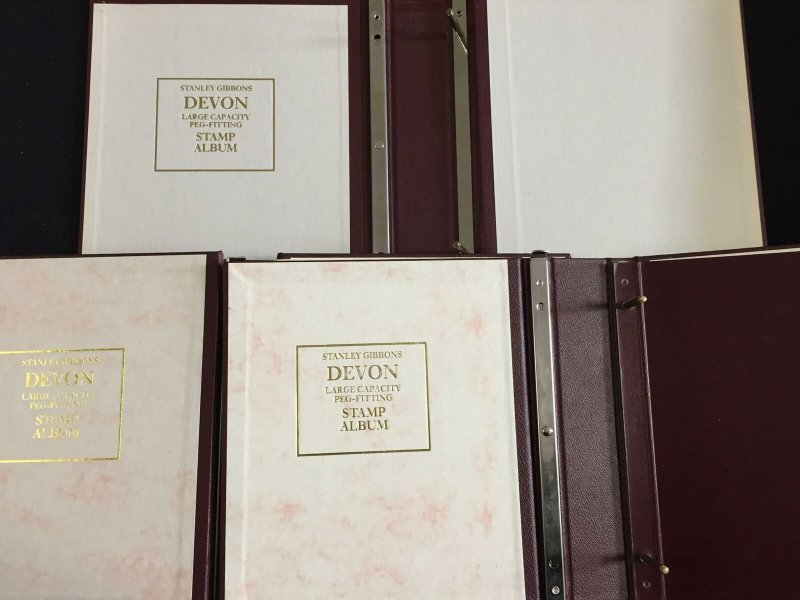 Devon Two Ring Binders x 8 (5kg) GM 586