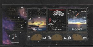 ISLE OF MAN, 850, MNH, SS, MILLENNIUM